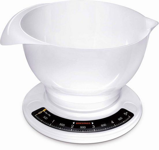 Soehnle Küchenwaage »Culina Pro«, (2-tlg), mit großer Rührschüssel