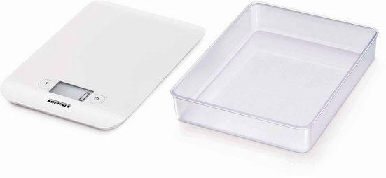 Soehnle Küchenwaage »Compact«, (2-tlg)