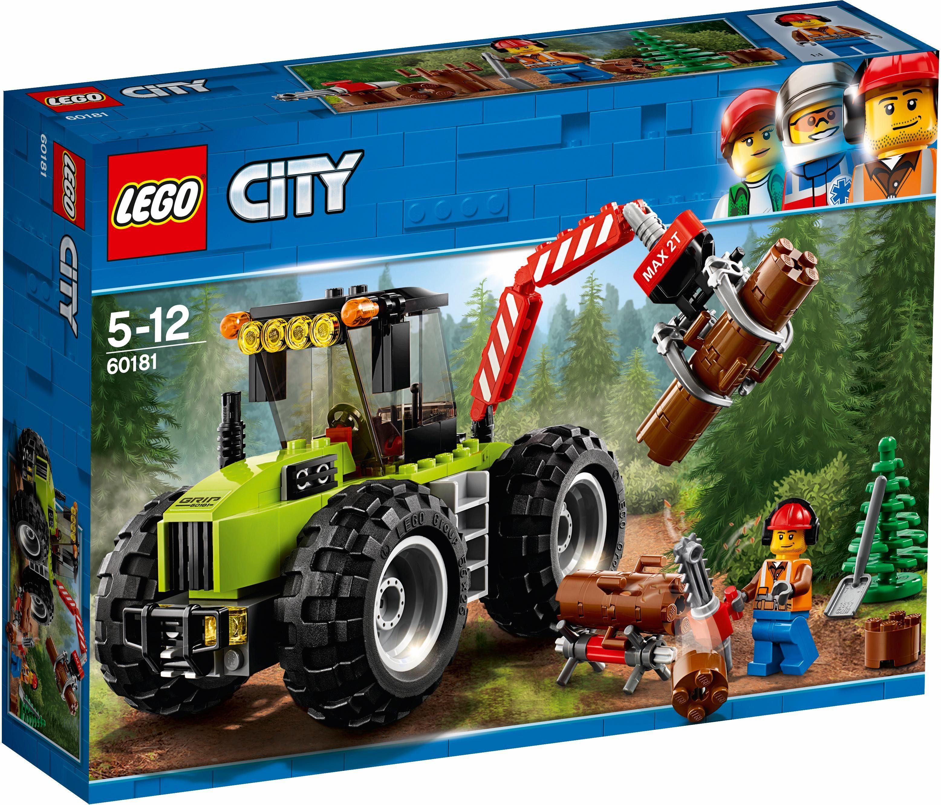LEGO® Forsttraktor (60181), »LEGO® City«