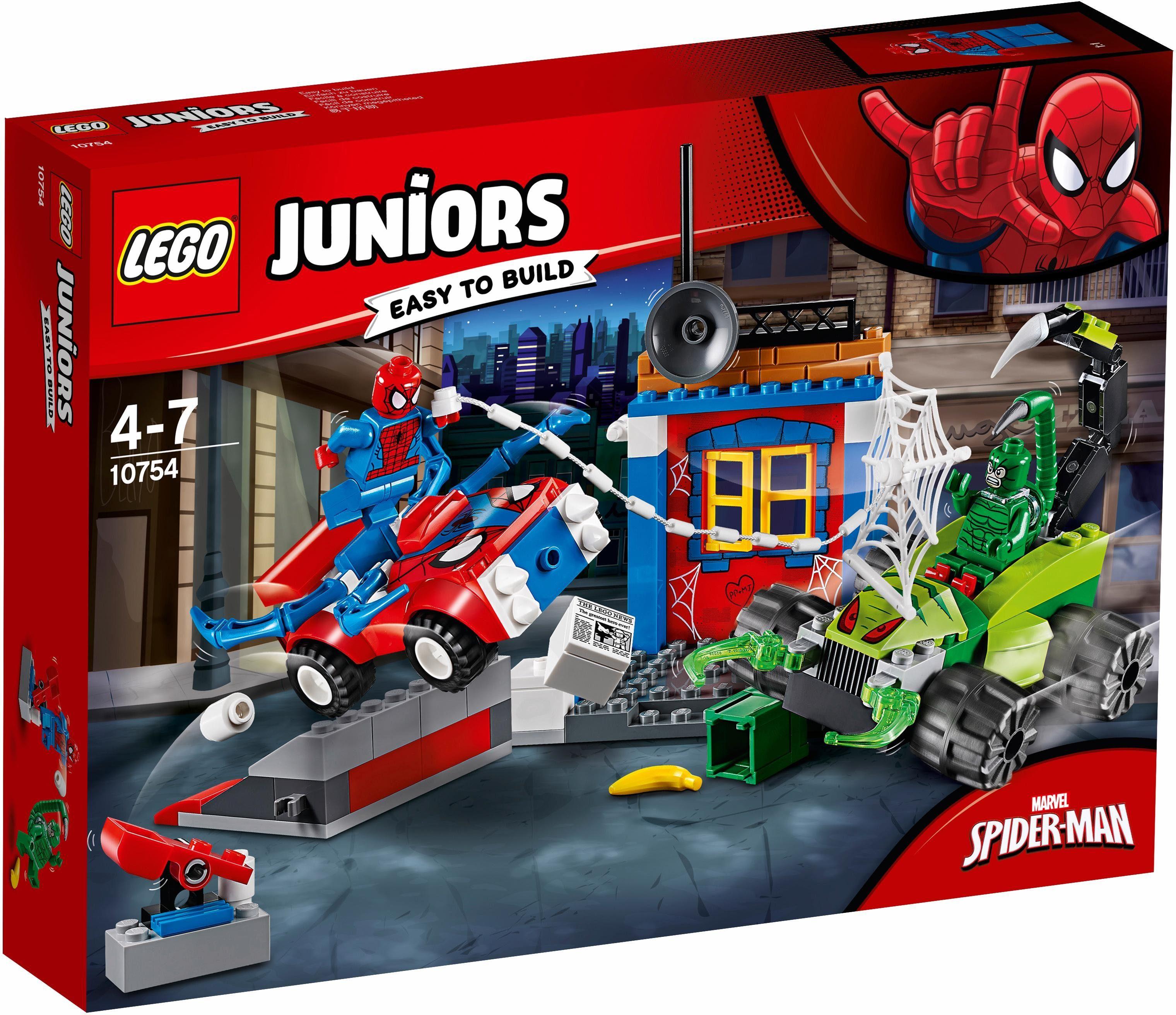 LEGO® Großes Kräftemessen von Spider-Man und Skorpion (10754), »LEGO® Juniors«