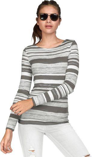 Classic Inspirationen Shirt im unregelmäßigem Streifen-Dessin