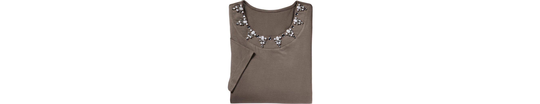 Lady Ziersteine Shirt mit aufgen盲hten Fair Shirt Fair Lady 45qxfw5Bp