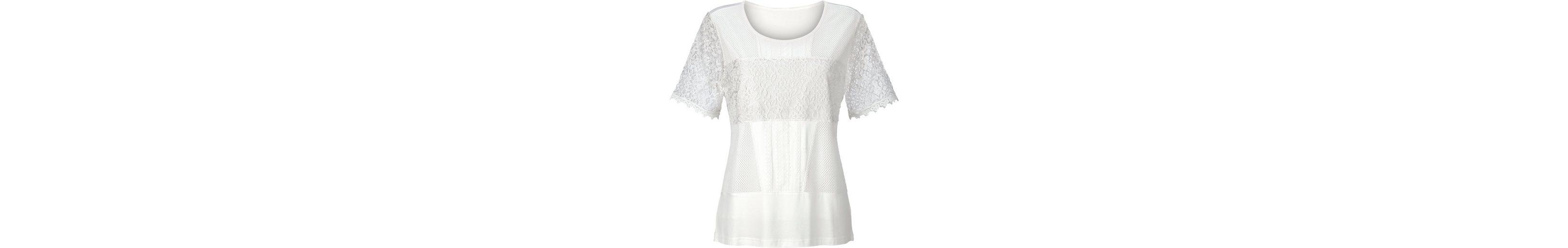 Lady Shirt vorne aus mehreren Spitzenarten gemacht 2018 Neue Online Günstiger Preis Vorbestellung Online Wie Vielen Verkauf Fälschen Zum Verkauf Günstig Versandkosten yrCzpvFZDK
