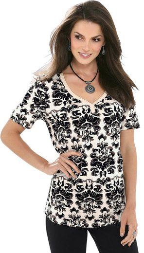 Fair Lady Shirt mit schön geschwungenem Herz-Ausschnitt