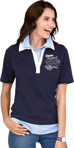 Alessa W. Shirt in außergewöhnlicher 2-in-1-Optik