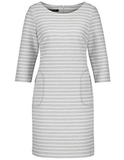 Taifun Kleid Gewirke Kleid mit Struktur-Streifen