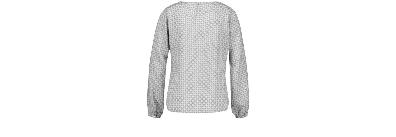 Taifun Bluse Langarm Blusenshirt mit Allover-Print Finish Zum Verkauf jcKFmpSk