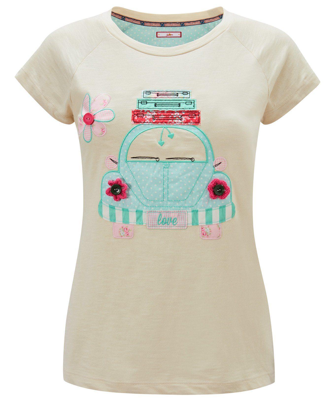 Joe Browns T-Shirt »T-Shirt mit Flügelärmeln und Motiv«