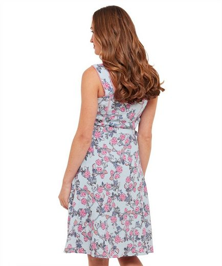Joe Browns A-Linien-Kleid Joe Browns Womens Sleeveless Sun Dress in Floral Print with Tie Belt