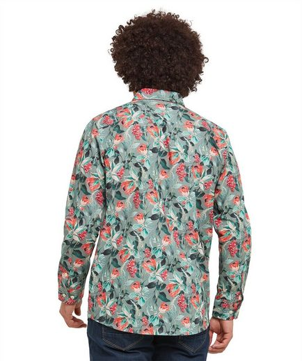 Joe Browns Langarmhemd Joe Browns Mens Long Sleeve Shirt with Floral Print