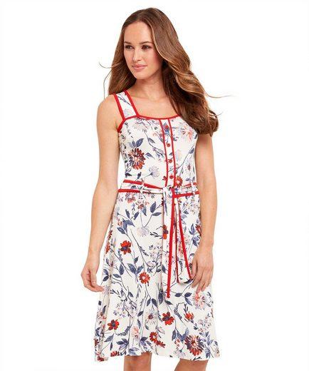 Joe Browns Skaterkleid Joe Browns Womens Sleeveless Jersey Dress in All Over Floral Print