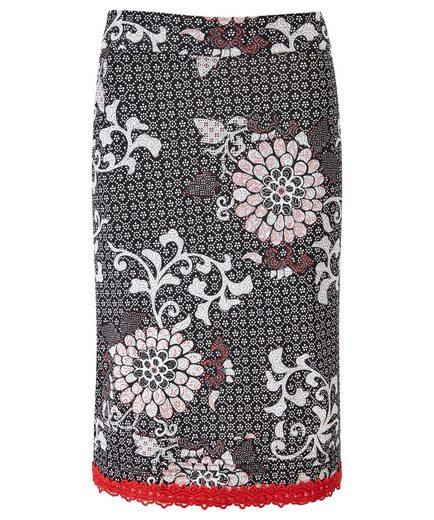 Joe Browns Bleistiftrock Joe Browns Womens Floral Printed Midi Skirt