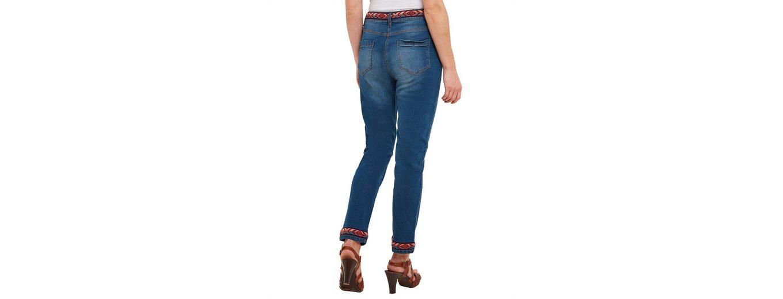 Joe Browns Regular-fit-Jeans Joe Browns Womens Cropped Fringed Jeans with Braided Belt Günstiger Versand Große Überraschung Zu Verkaufen Neue Ankunft Günstiger Preis Erschwinglich Yy8PMoR88