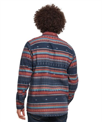 Joe Browns Langarmhemd Joe Browns Mens Long Sleeve Casual Stripe Shirt