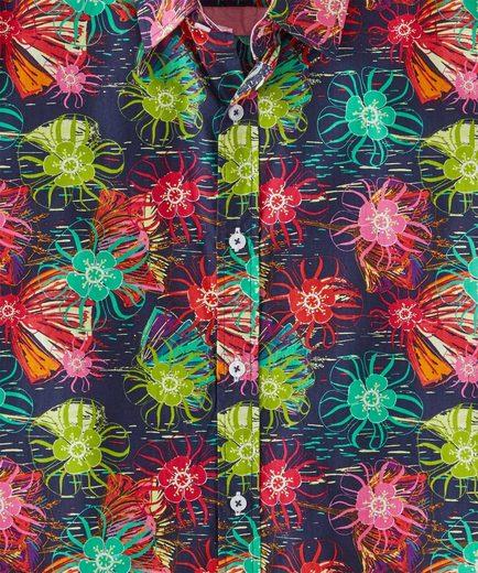 Joe Browns Langarmhemd Joe Browns Mens Long Sleeve Shirt with Bright Print
