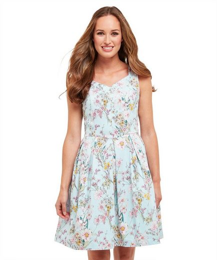 Joe Browns A-Linien-Kleid Joe Browns Womens Sleeveless Occasion Tea Dress with Sweetheart Neckline