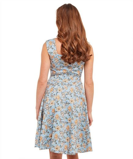 Joe Browns A-Linien-Kleid Joe Browns Womens Sleeveless Vintage Syle Sun Dress with Sweetheart Neckline