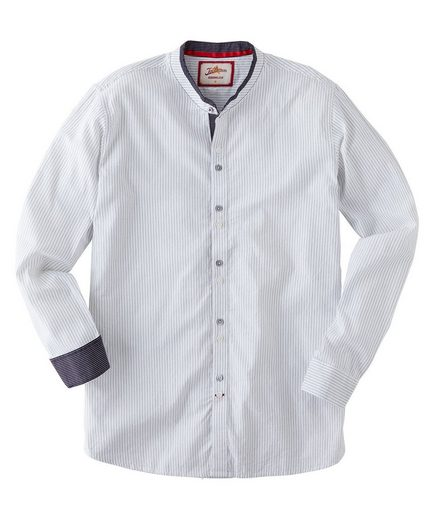 Joe Browns Langarmhemd Joe Browns Mens Long Sleeve Grandad Collar Shirt