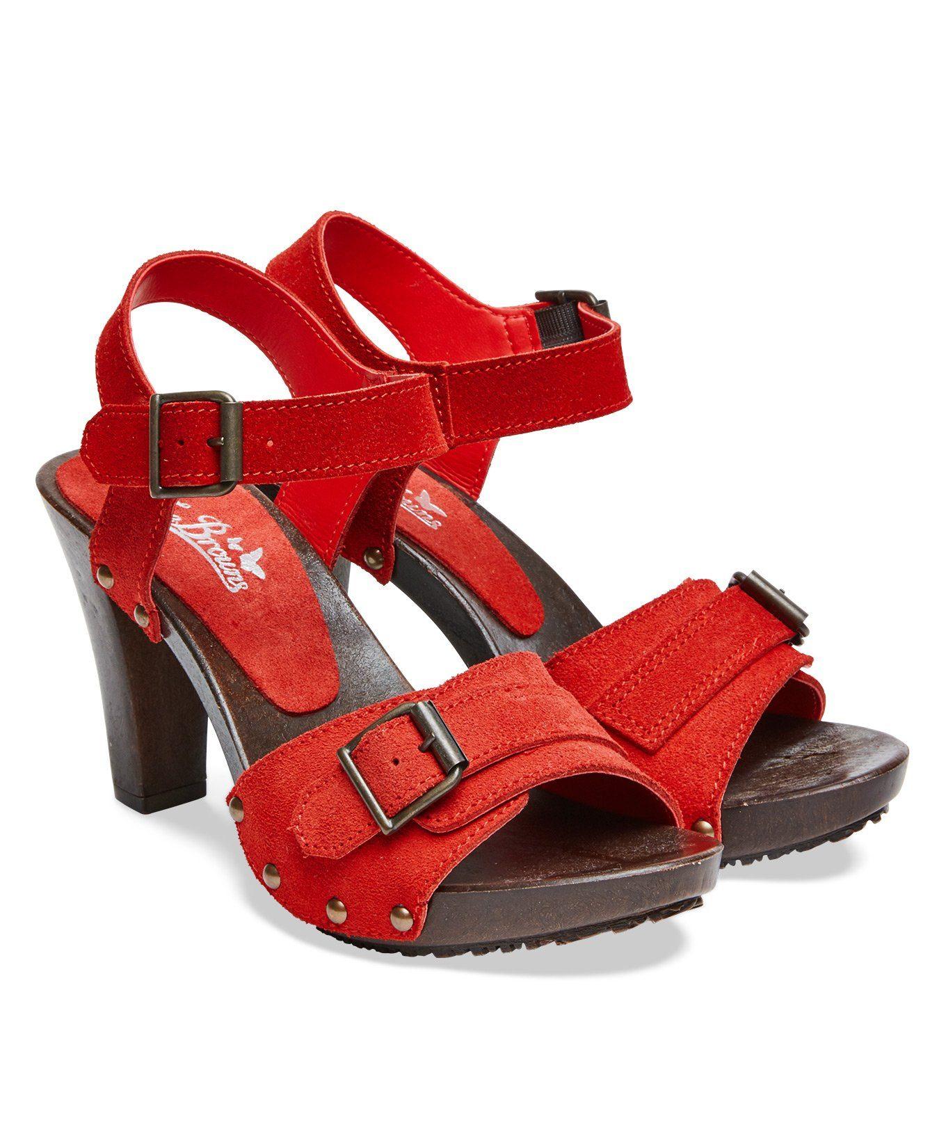 Joe Browns »Italienische Ledersandalen mit Fesselriemen und Blockabsatz« Sandalette