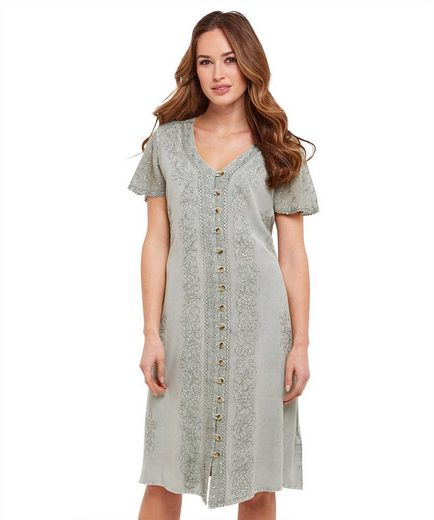 Joe Browns A-Linien-Kleid Joe Browns Womens Short Sleeve Embroidered Sun Dress
