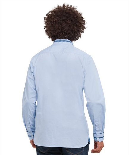 Joe Browns Langarmhemd Joe Browns Mens Long Sleeve Shirt Plain with Collar Detail