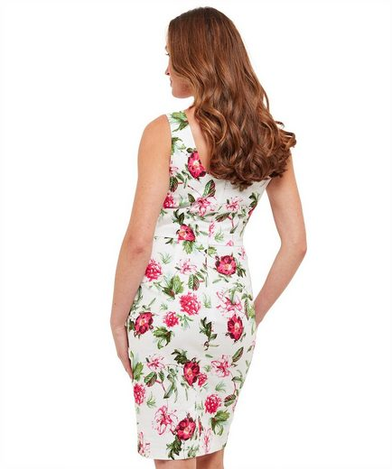 Joe Browns Partykleid Joe Browns Womens Sleeveless Occasion Sun Dress in All Over Floral Print