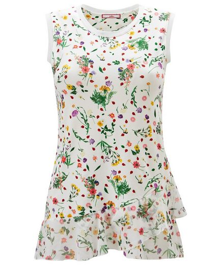 Joe Browns Tanktop Joe Browns Womens Sleeveless Chiffon Top in All Over Floral Print