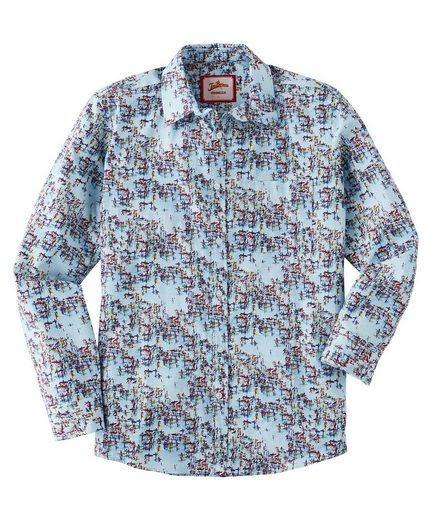 Joe Browns Langarmhemd Joe Browns Mens Long Sleeve Shirt with Printed Pattern