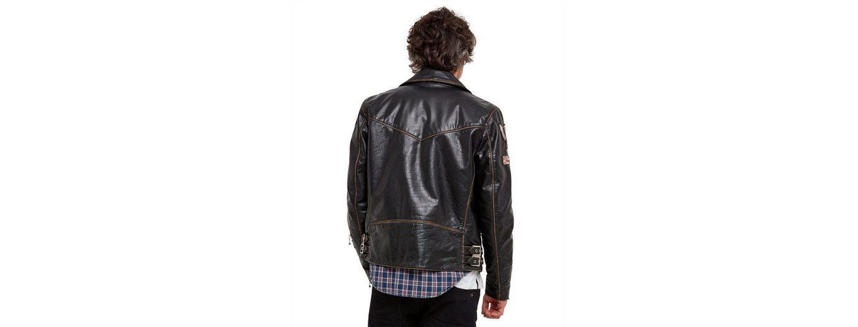 Joe Browns Lederjacke Joe Browns Mens Real Leather Biker Style Zip Up Jacket with Badges Bilder Günstig Online Günstige Online Websites Online-Verkauf Rabatt Größte Lieferant bqmDIySwZ