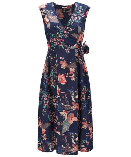 Joe Browns Wickelkleid Joe Browns Womens Cap Sleeve Wrap Dress in All Over Floral Print