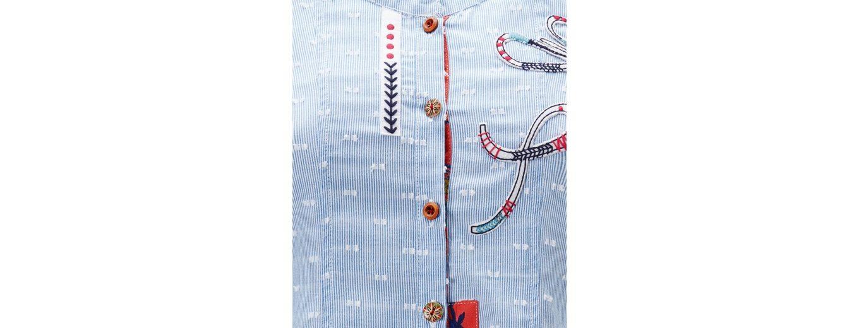Joe Browns Langarmbluse Joe Browns Womens Long Sleeve Button Up Mix and Match Fabric Blouse Steckdose Truhe Billig Verkauf Genießen Verschleißfestigkeit Neue Version Tolle LthhwiZ8J