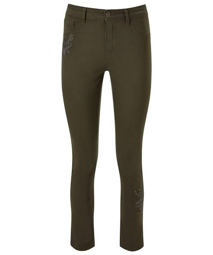 Joe Browns Röhrenjeans Joe Browns Womens Skinny Jeans With Embroidered Embellishment