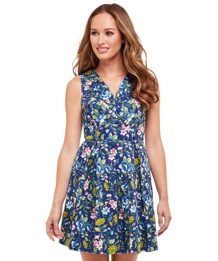 Joe Browns Skaterkleid Joe Browns Womens Sleeveless Skater Dress in All Over Floral Print