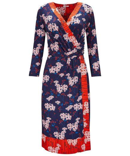 Joe Browns Wickelkleid Joe Browns Womens Long Sleeve Jersey Wrap Dress in Oriental Print