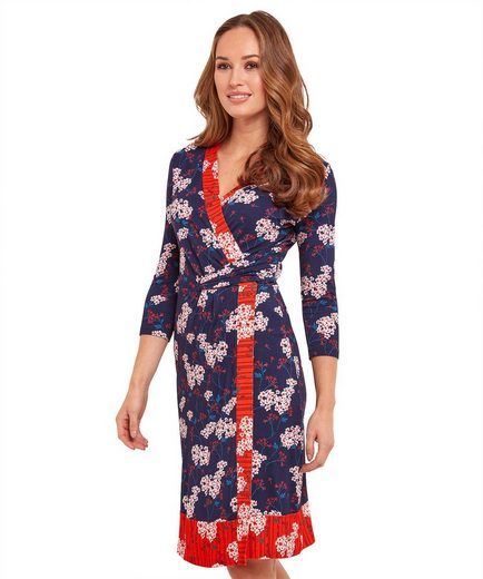 Joe Browns Wickelkleid Joe Browns Womens Long Sleeve Jersey Wrap Dress in Oriental Print