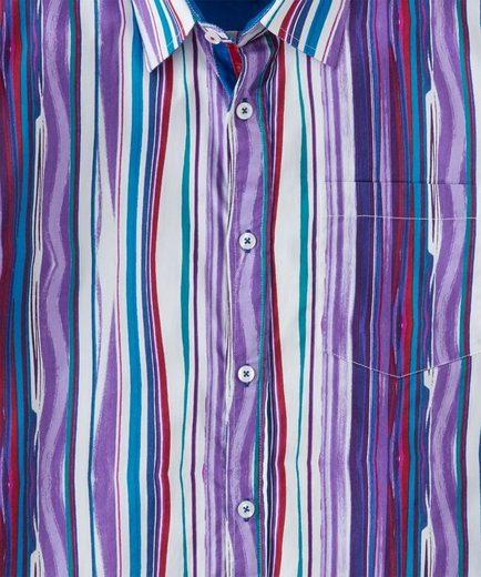 Joe Browns Langarmhemd Joe Browns Mens Long Sleeve Painted Stripe Shirt