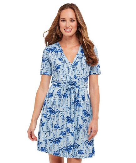 Joe Browns Wickelkleid Joe Browns Womens Short Sleeve Jersey Wrap Dress in All Over Floral Print