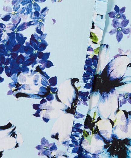 Joe Browns Wickelkleid Joe Browns Womens Short Sleeve Wrap Style Tea Dress with Floral Corsage