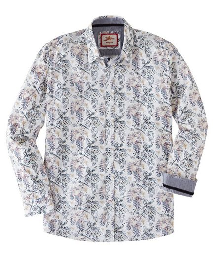 Joe Browns Langarmhemd Joe Browns Mens Long Sleeve Shirt with Leaf Print Design