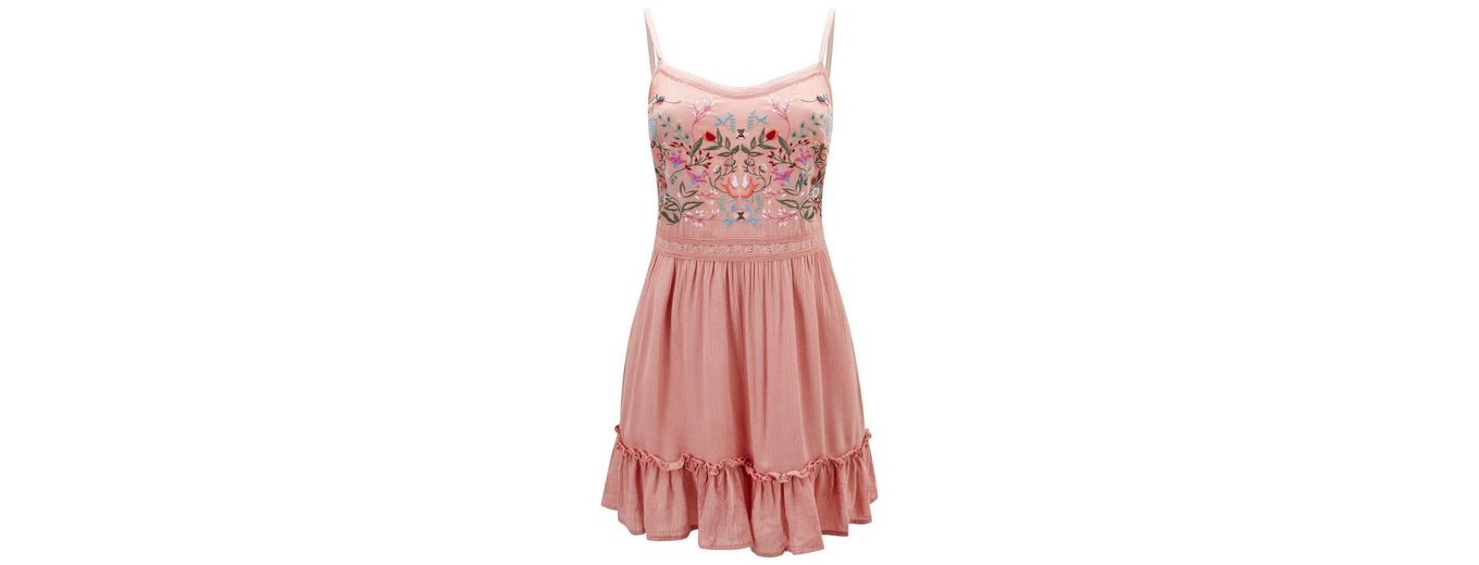 Womens Browns Joe Browns Spaghettitop Strappy Top with Embroidery Floral Joe OIp4Ixwn
