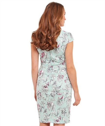Joe Browns Wickelkleid Joe Browns Womens Cap Sleeve Wrap Occasion Dress in All Over Floral Print
