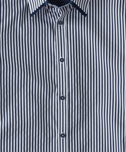 Joe Browns Langarmhemd Joe Browns Mens Long Sleeve Stripe Shirt