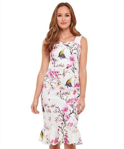 Joe Browns Etuikleid Joe Browns Womens Short Sleeve Bodycon Dress in Floral Print