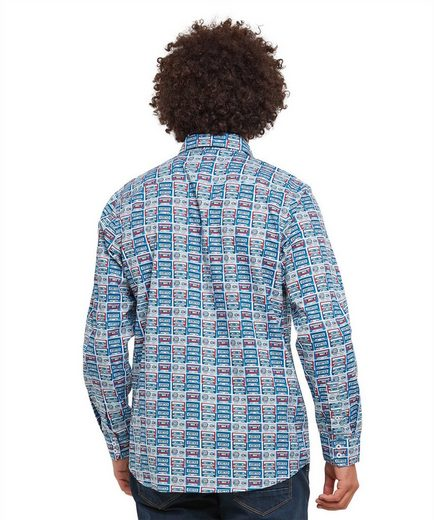 Joe Browns Langarmhemd Joe Browns Mens Long Sleeve Shirt With Cassette Tape Print