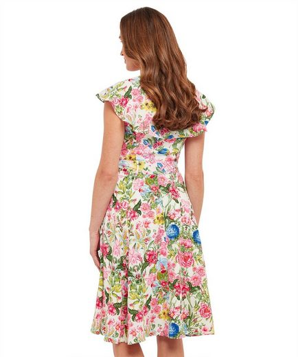 Joe Browns Skaterkleid Joe Browns Womens Sleeveless Occasion Tea Dress in Floral Print