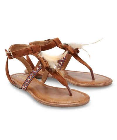 Joe Browns »Gladiator-Sandalen aus Leder mit Nieten« Römersandale k4qVUgnw