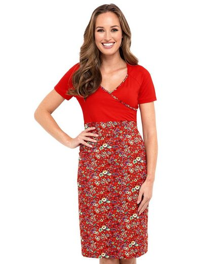 Joe Browns Etuikleid Joe Browns Womens Short Sleeve Jersey Wrap Dress