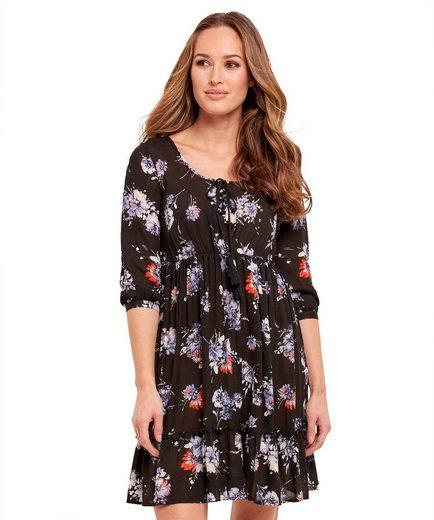 Joe Browns Blusenkleid Joe Browns Womens Long Sleeve Empire Dress in All Over Floral Print