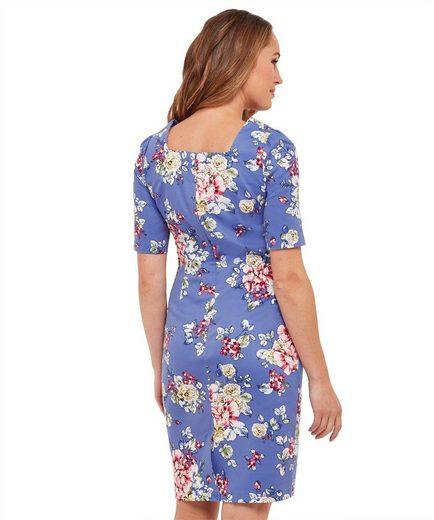 Joe Browns Etuikleid Joe Browns Womens Short Sleeve Bodycon Dress in All Over Floral Print
