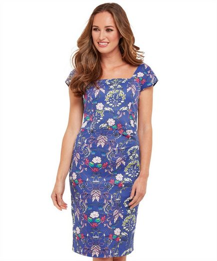 Joe Browns Etuikleid Joe Browns Womens Cap Sleeve Bodycon Dress in All Over Floral Print